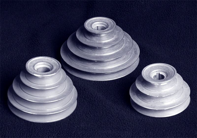 Cone Type Step Pulleys