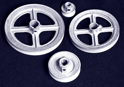 Single-Groove Pulleys - Click to learn more!